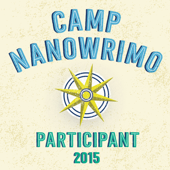 Camp NaNoWriMo 2015 Participant badge