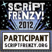 Script Frenzy 2012 Participant badge