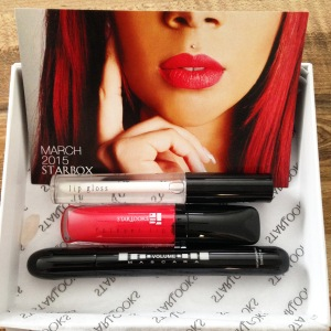 March 2015 Starbox Subscriber makeup box from Starlooks Cosmetics