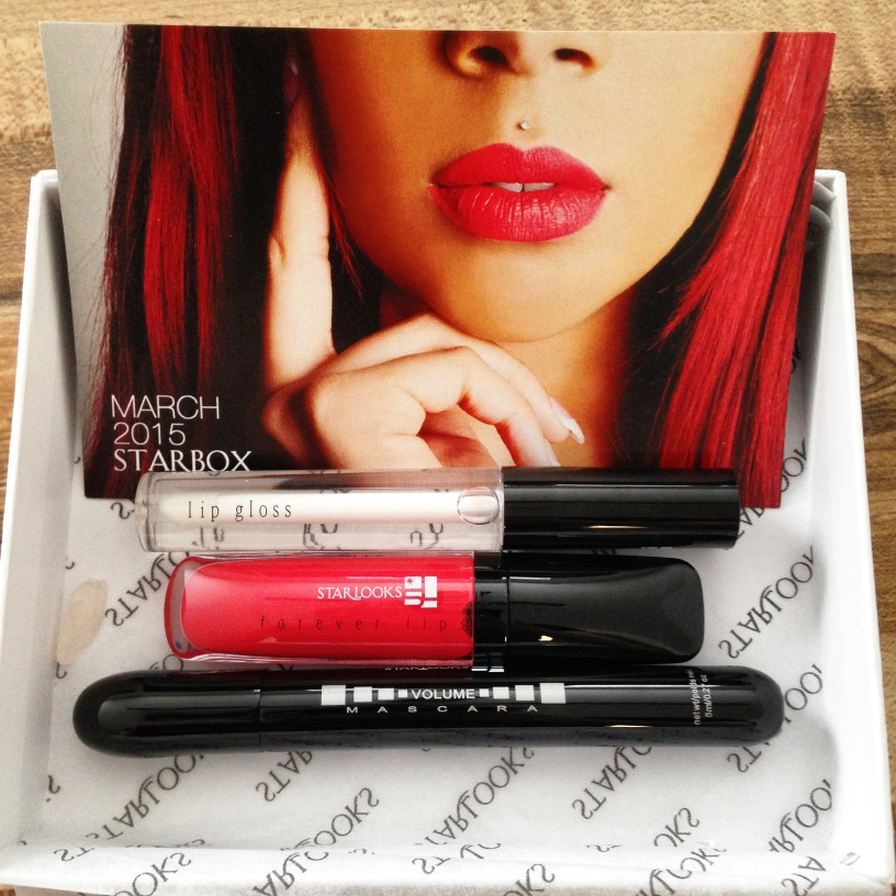 Review of Starbox March 2015 from Starlooks Cosmetics written by Feliza Casano