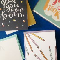 Occasional cards from September 2015 Studio Calico Stationery Kit
