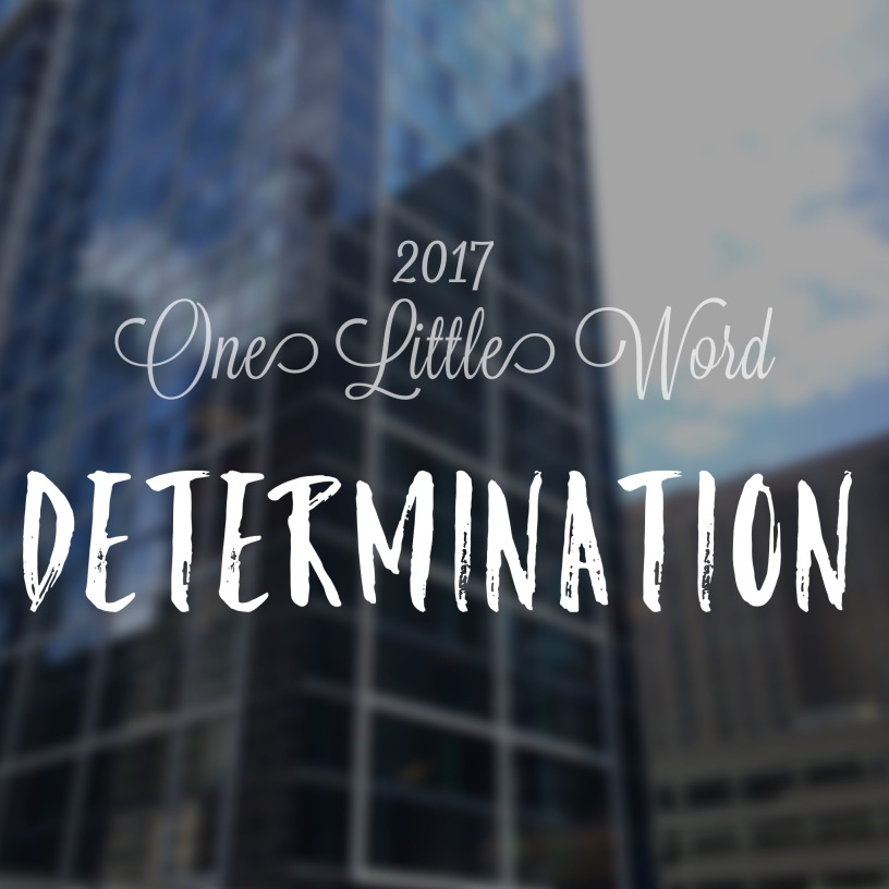 One Little Word 2017 Determination Feliza Casano