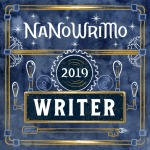 2019 NaNoWriMo Writer Badge